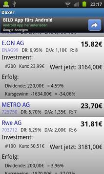 Daxer - Dividende Low Five apk screenshot