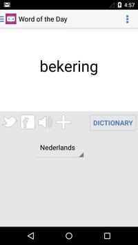 Dutch Dictionary + apk screenshot