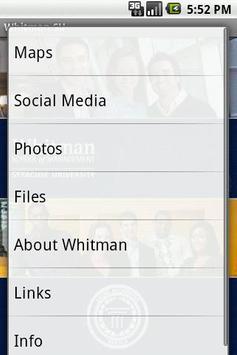 Whitman SU apk screenshot