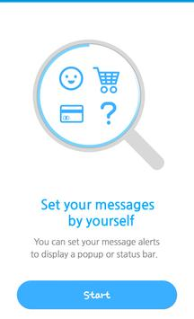 Message Box -Classify your SMS poster