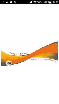 Company Profile Ide Kreasi poster