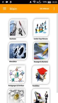 Company Profile Ide Kreasi apk screenshot