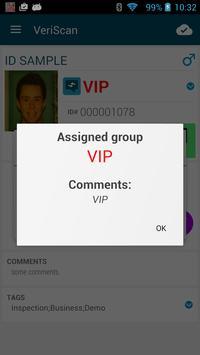 VeriScan Online apk screenshot