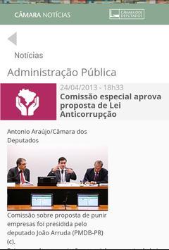 Câmara Notícias apk screenshot