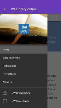 JW Library online poster