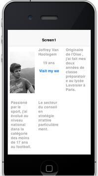 Joffrey Van Hootegem CV apk screenshot