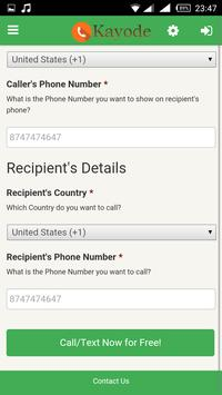 Kayode Call and Text for Free apk screenshot