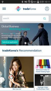B2B e-Marketplace, tradeKorea poster