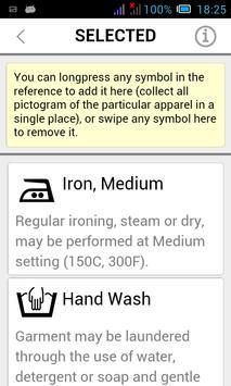 Laundry Pro - care symbols apk screenshot
