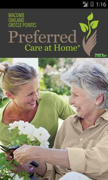 Preferred Care at Home poster