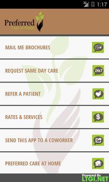 Preferred Care at Home apk screenshot