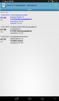 Lavid Auftrags-App apk screenshot