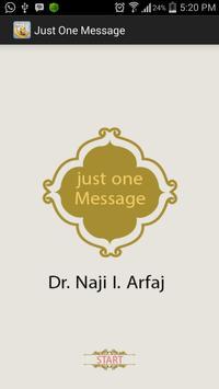 Just One Message apk screenshot