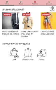 Looks y combinaciones de ropa poster