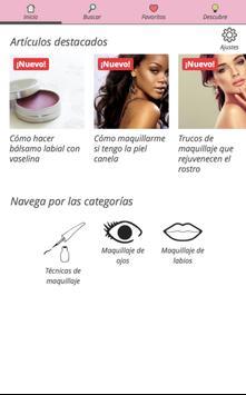 Trucos de maquillaje poster