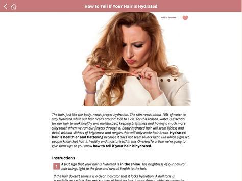 Beauty tips for skin & hair apk screenshot