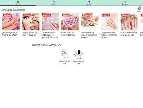 Consejos para uñas perfectas apk screenshot