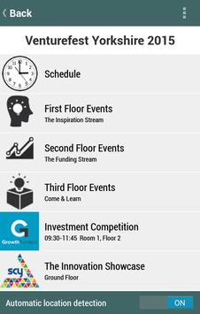 Venturefest Yorkshire 2015 apk screenshot