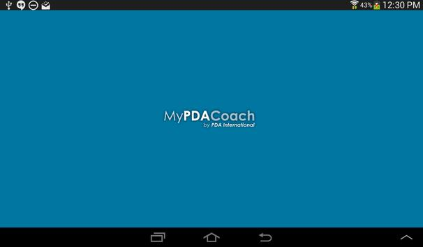 My PDA Coach apk screenshot