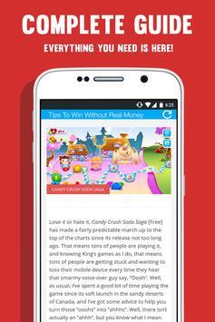 Guide Candy Crush Soda Saga apk screenshot