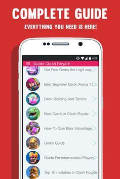 Guide For Clash Royale - WIKI apk screenshot