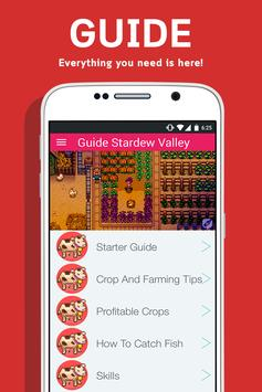 Guide For Stardew Valley poster