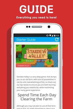 Guide For Stardew Valley apk screenshot