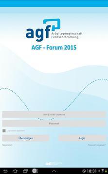 AGF-FORUM 2015 apk screenshot