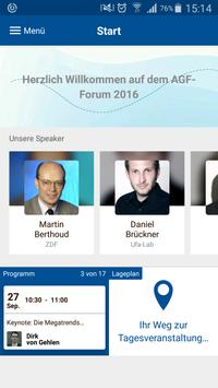 AGF Forum 2016 poster