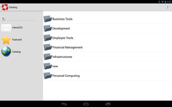 PMG Service Catalog apk screenshot