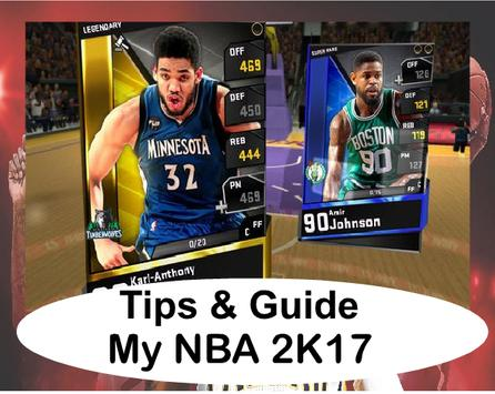 Guide And My NBA 2K17 poster