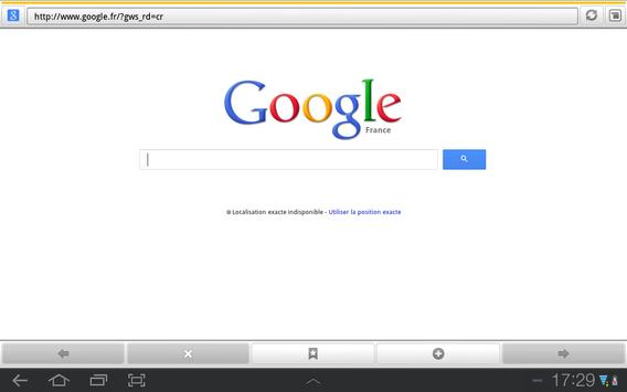 Pradeo Browser apk screenshot