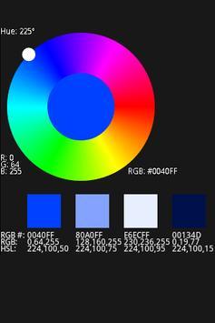 ColorWheel apk screenshot