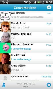 TextOne poster