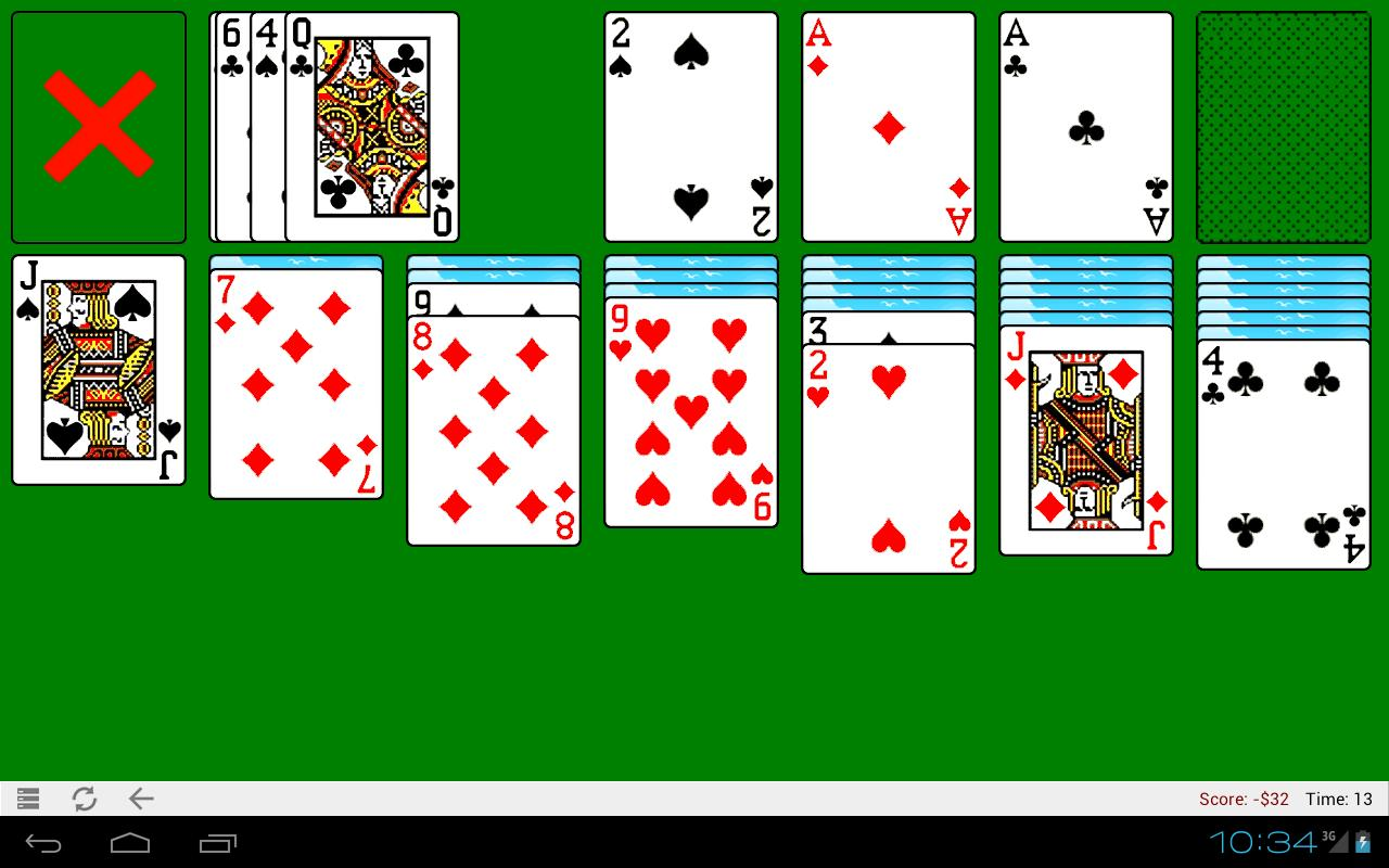 free classic solitaire games