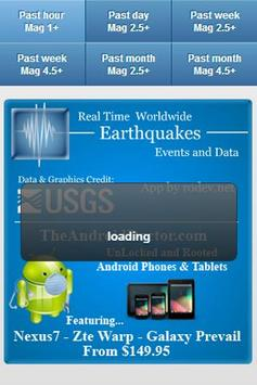USGS Earthquake Data apk screenshot