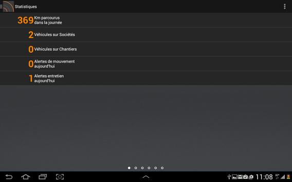 SuiviMobile apk screenshot