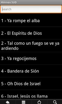 LDS Hymns Spanish poster