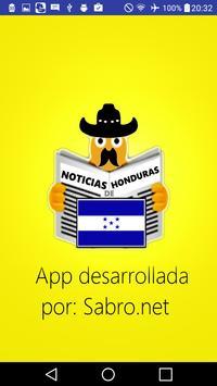 Noticias de Honduras HN News poster