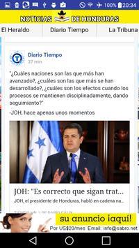 Noticias de Honduras HN News apk screenshot