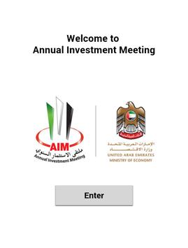 Annual Investment Meeting 2015 poster