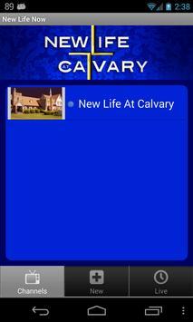 New Life at Calvary poster