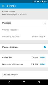 ShareSync apk screenshot