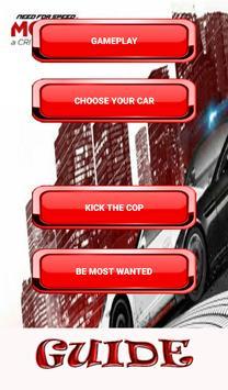 Guide NFS:Most Wanted 2012 apk screenshot