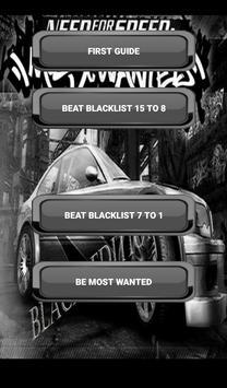 Guide NFS:MW Black Edition apk screenshot