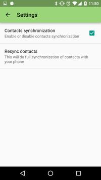 SMSee - SMS and Contacts on PC apk screenshot
