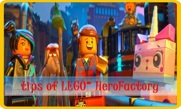 Guide LEGO® Hero Factory poster