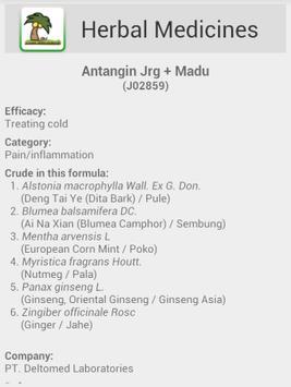 Herbal Medicine Systems apk screenshot