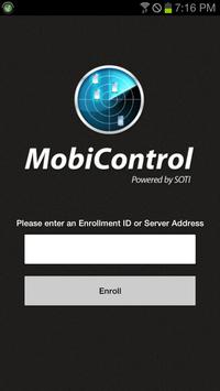 MobiControl Agent poster