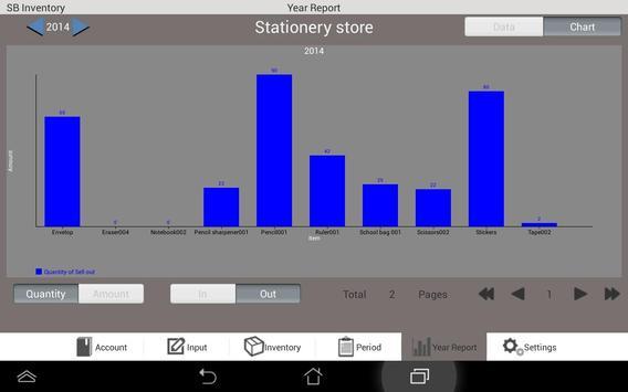 Inventory S apk screenshot